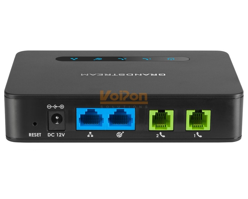 Grandstream Ht812 Powerful 2 Port Ata With Gigabit Nat Router
