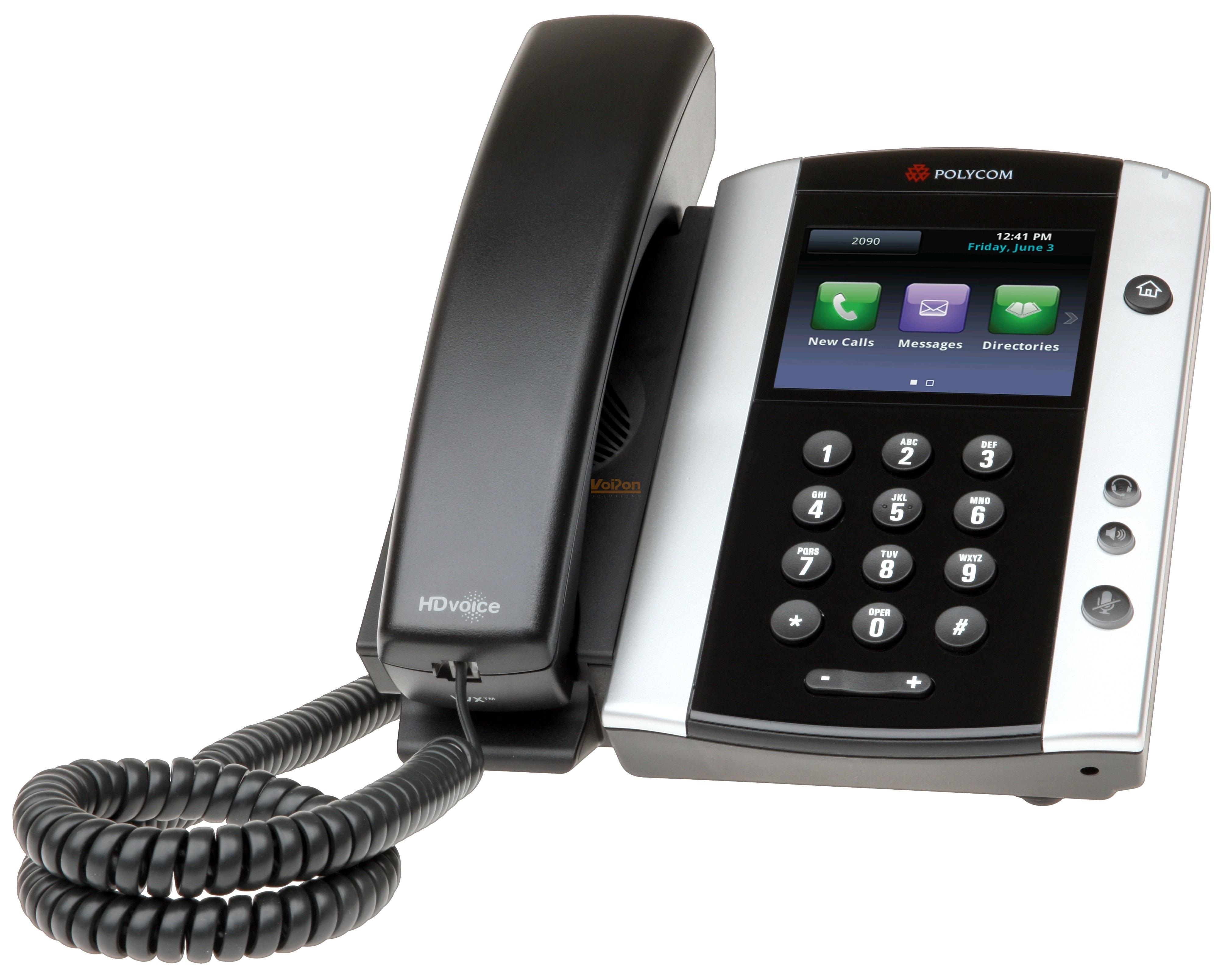 Polycom Vvx 500 Gigabit Business Media Phone Vvx500