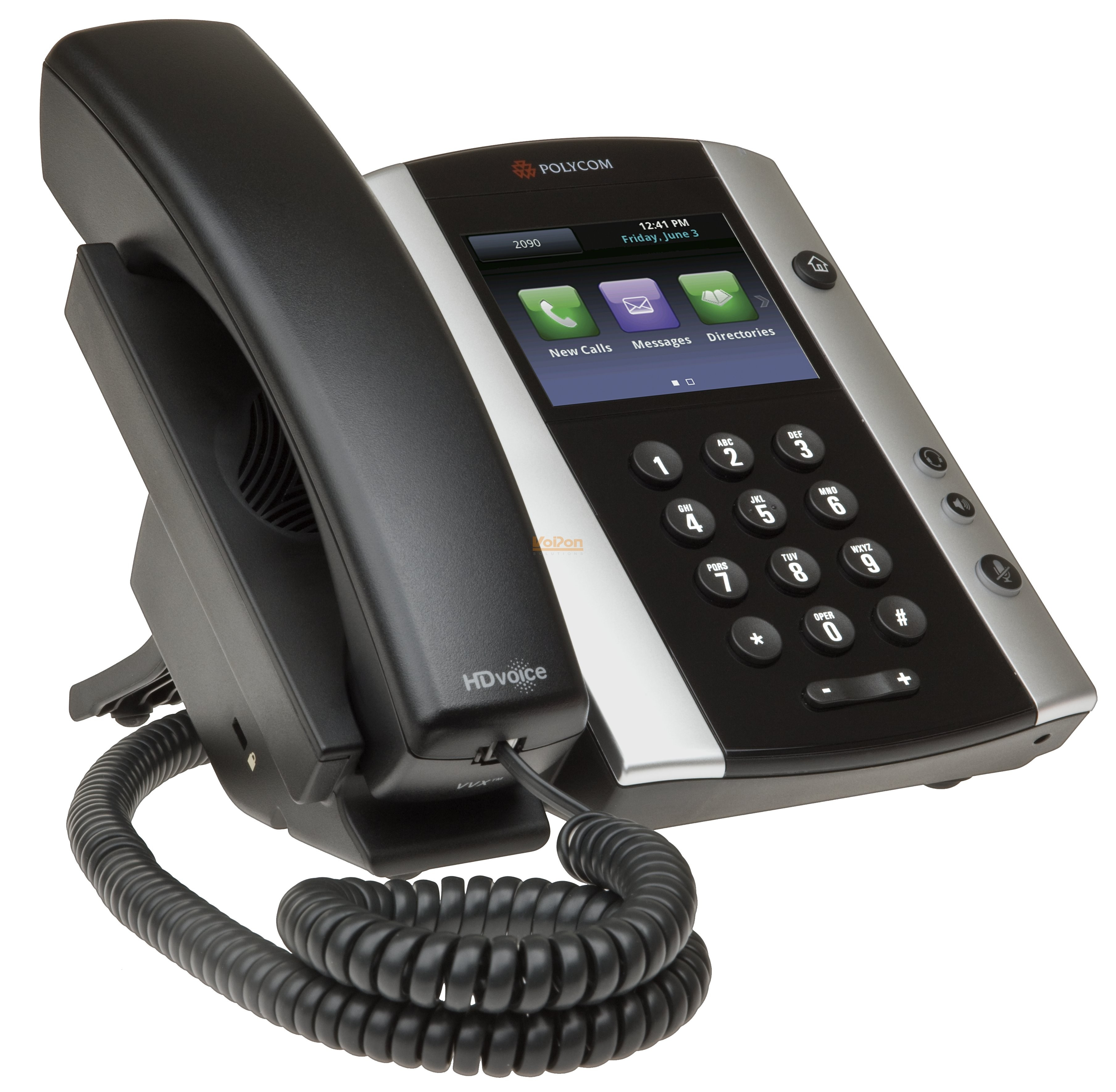 how to set up voicemail on polycom vvx 300