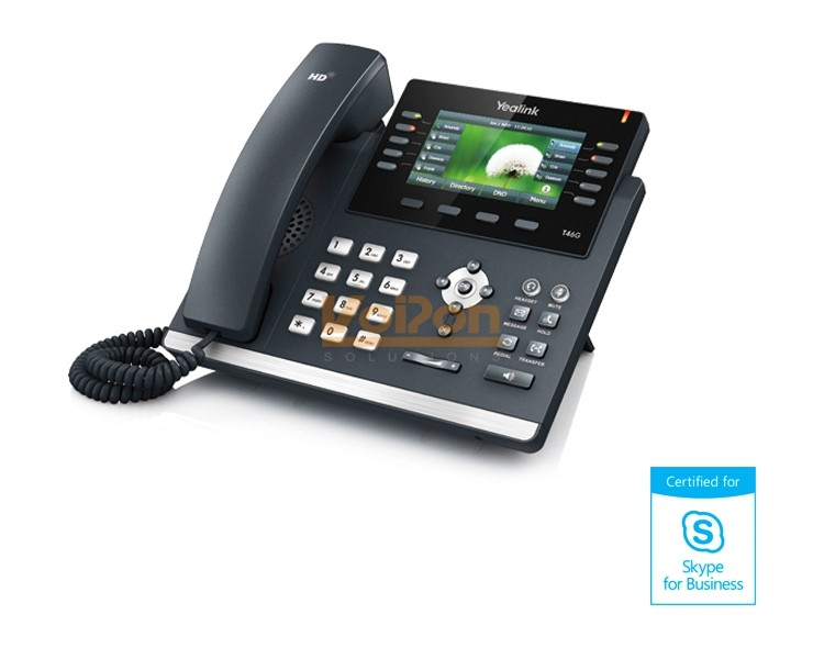 Yealink T46g Ip Phone Skype For Business Sip Manual Guide