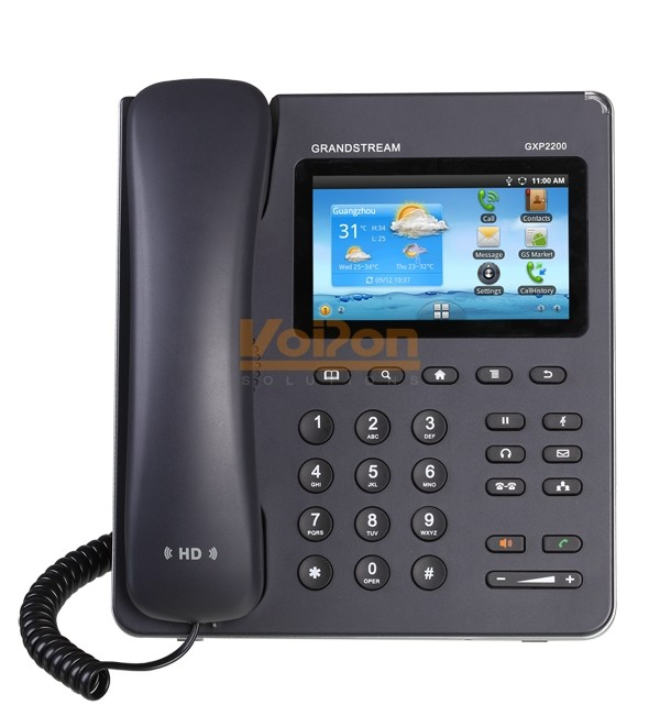 Grandstream GXP2200 Android Desk IP Phone GXP2200 Android