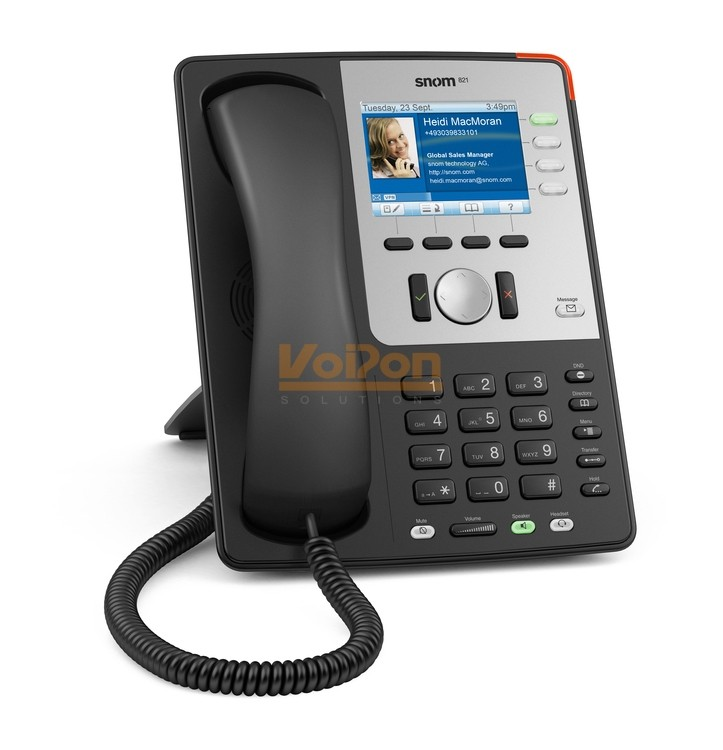 Snom 821 White Ip Phone Snom 821