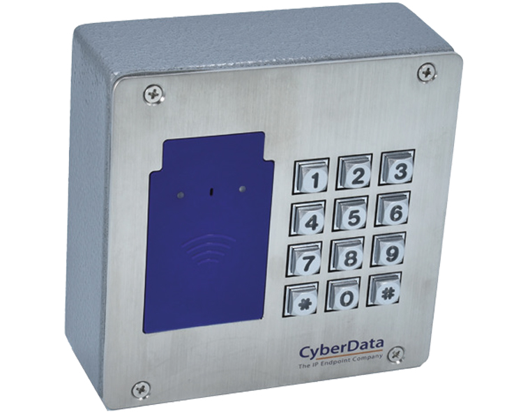 CyberData RFID/Keypad Secure Access Control Endpoint (011426)