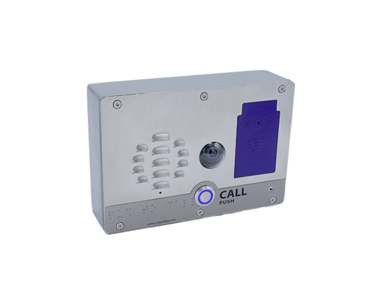 CyberData SIP h.264 Video Outdoor Intercom with RFID (011478)