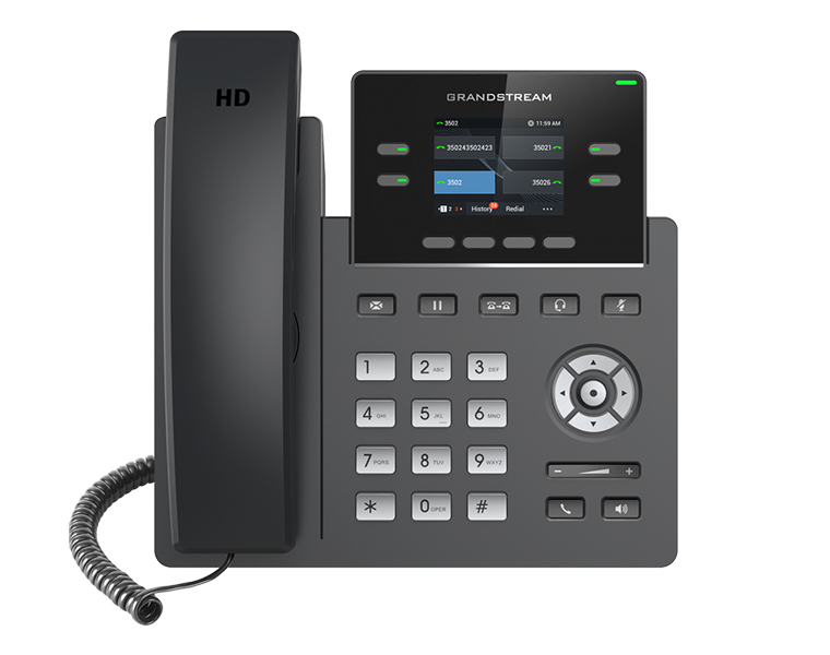 Grandstream GRP2612P 2-line Carrier-Grade IP Phone