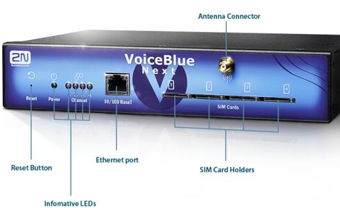 2N VoiceBlue Next VoIP 4 GSM channels