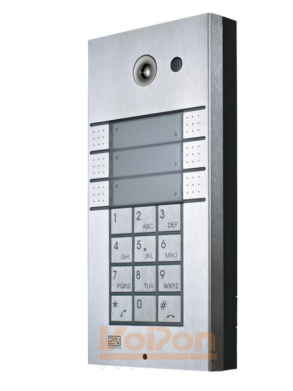 2n Helios Ip 3x2 Button Keypad Door Entry Panel 9137161ke 9137161ku