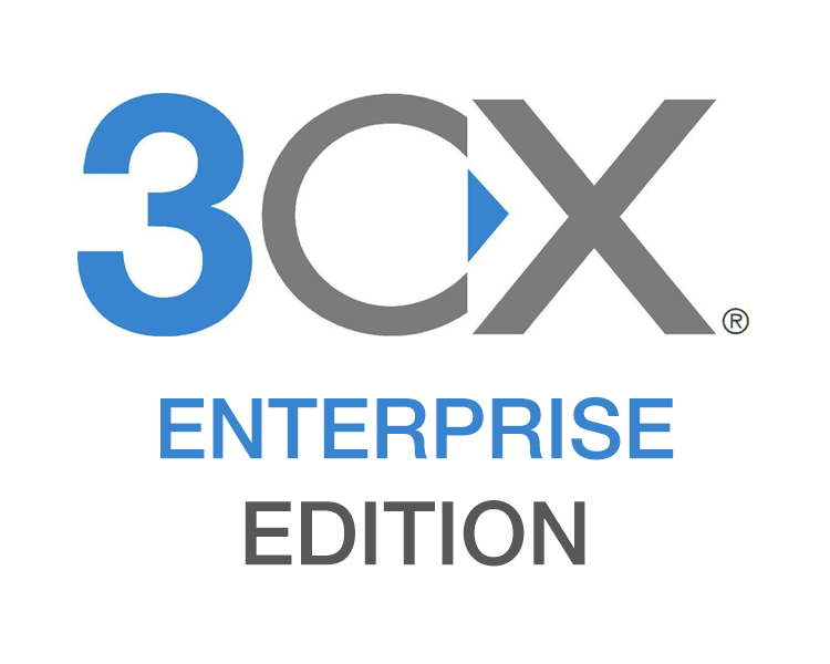 3CX IP PBX Phone System Enterprise Annual License - 4 Simultaneous Calls (Upgradable to 1,024 Simultaneous Calls)