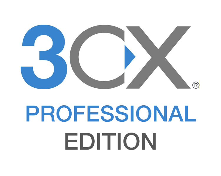 3CX Phone System Professional - 32SC inc 1 year Maintenance (3CXPSPROF32)