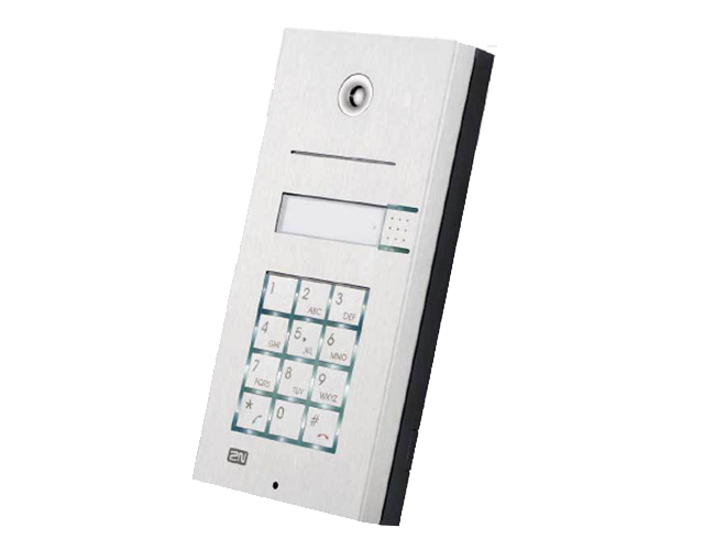 2N Helios IP Vario 1 Button + Keypad Door Entry Panel (137111KU)