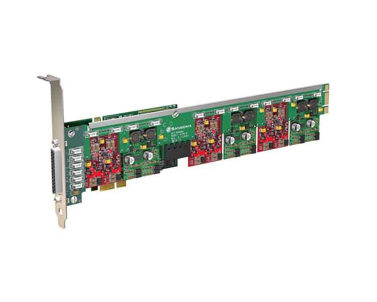 Sangoma A400 FXO FXS Analogue Card PCI Express (A400 BRME)