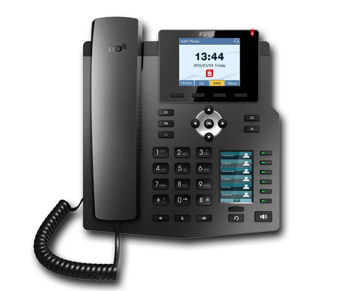 Fanvil X4G 4 Line Enterprise Gigabit IP Phone