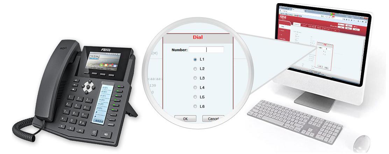 Web Dial