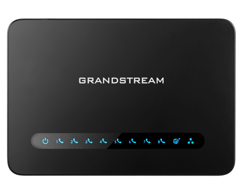 Grandstream HT818 8 port FXS Gateway with Gigabit NAT Router