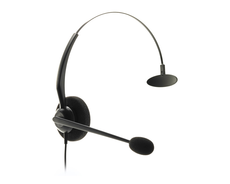 JPL Telecom JAC Plus Monaural Headset with Plantronics Quick Disconnect Plug (JACPLUSPLXM)