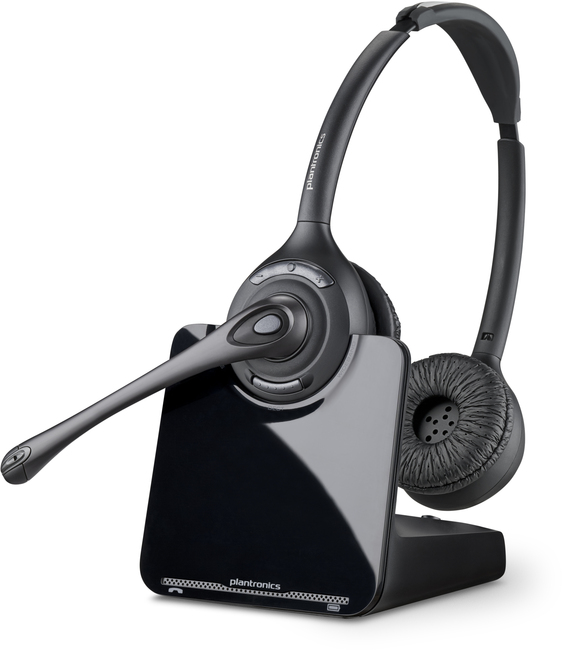 Plantronic CS520 Binaural wireless EHS headset