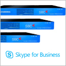 Skype for Business Session Border Controllers