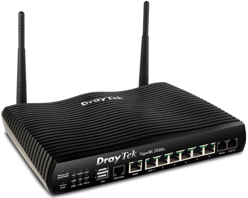 DrayTek VigorBX 2000n IP PBX & DSL Firewall