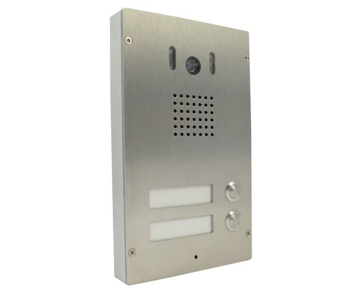 Alphatech 230502 IP Bold 65 T2C Door Entry System (two call buttons, colour camera)