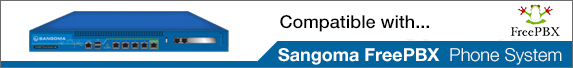 Compatible with Sangoma FreePBX