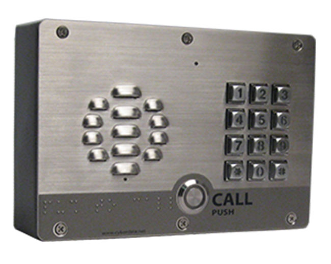 CyberData Singlewire InformaCast-enabled VoIP Outdoor Intercom with Keypad (011310)