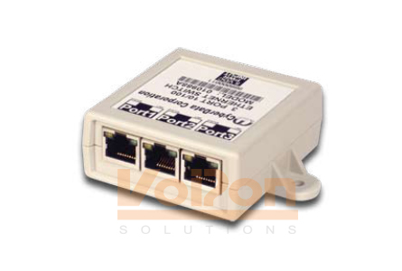 Port Ethernet Switch on Product Image  Cyberdata 3 Port Ethernet Switch  010988