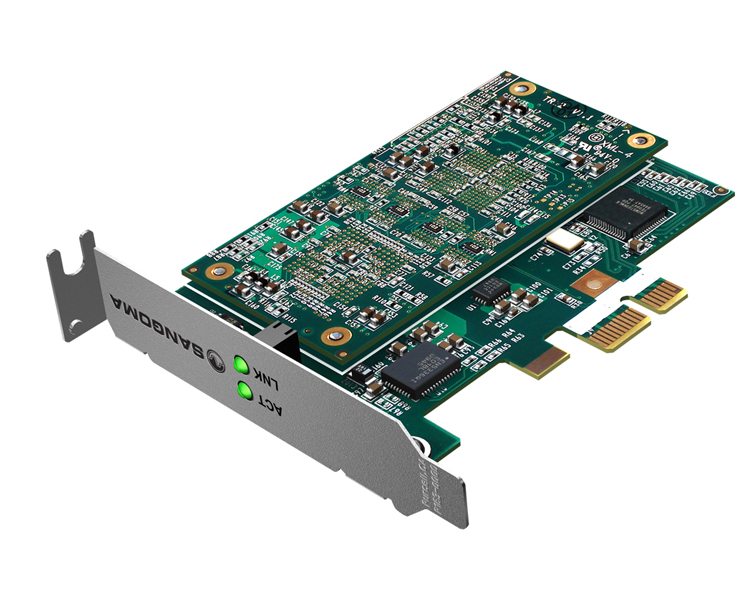Sangoma D100-060E PCI Express Voice Transcoding Card (Up to 60 Transcoding Sessions)
