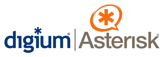 Digium and Asterisk Logos