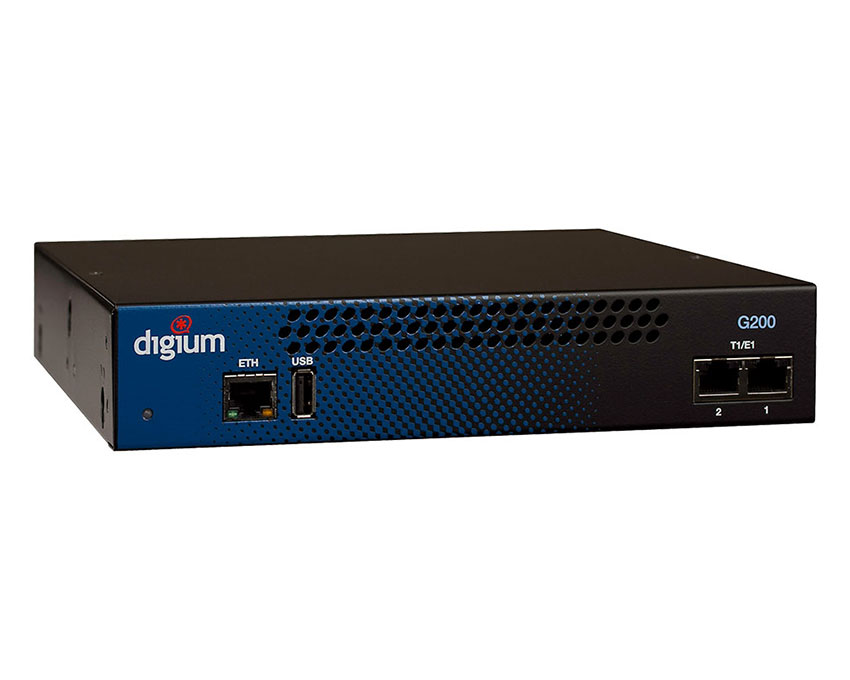 Digium G200 2 T1/E1/PRI port Gateway