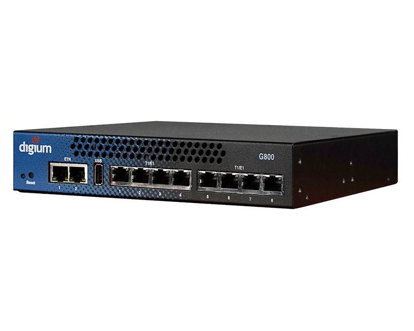 Digium G800 8 T1/E1/PRI port Gateway