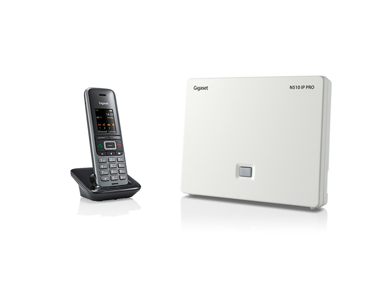 Gigaset N510IP Base Station and Gigaset S650H Phone bundle - One Handset