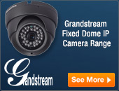 Grandstream Fixed Dome IP Cameras