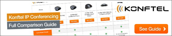 Konftel IP Conferencing Telephone Range Comparison
