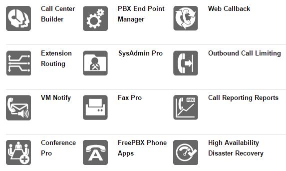 Sangoma FreePBX Phone System 40 - 40 users or 30 calls