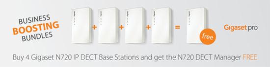 Gigaset N720 Ip Pro Base Station Multicell System