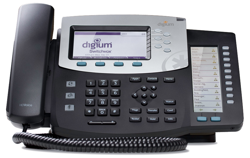 Digium D70 IP Phone