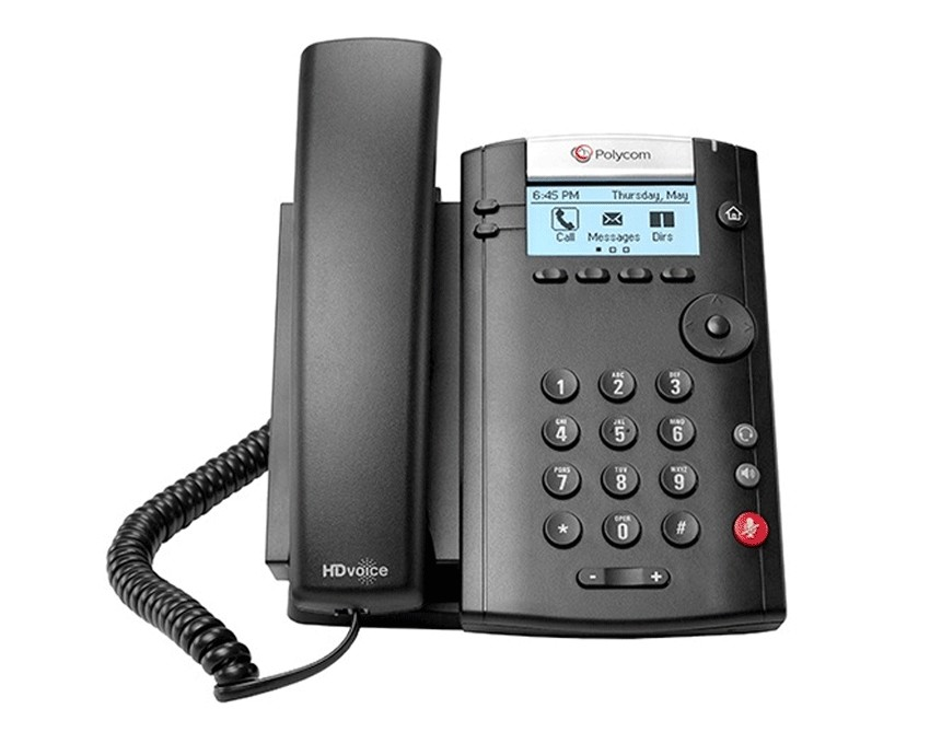 Polycom VVX 201 Business Media Phone (VVX201)