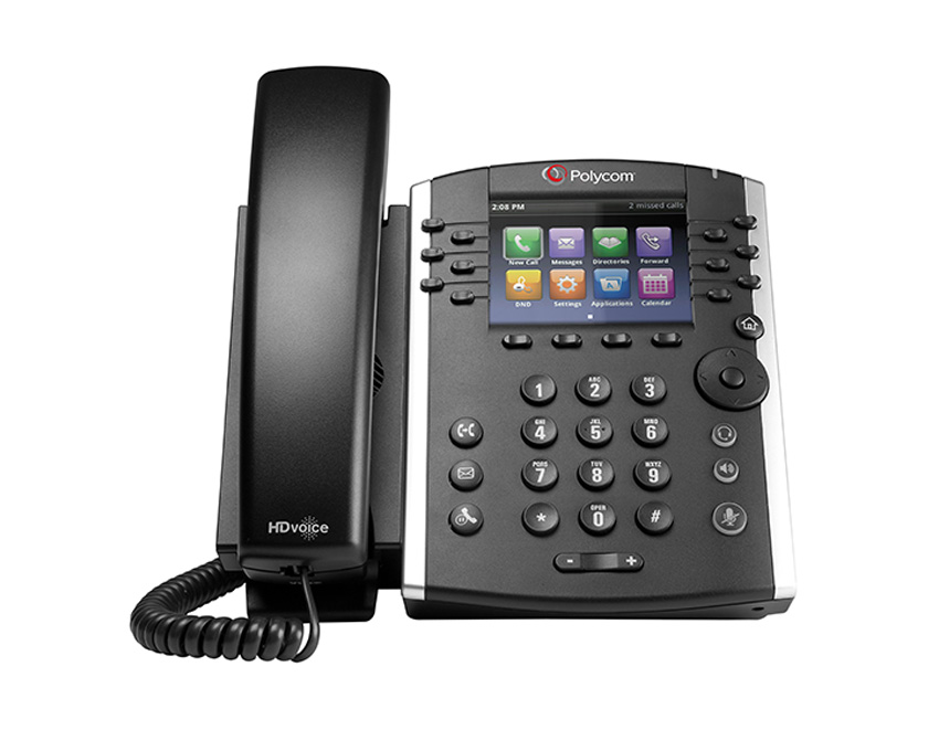 Polycom VVX 410 Gigabit Business Media Phone (VVX410)