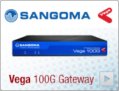 Sangoma Vega 100G Single E1/T1 Digital Gateway VS0164 - See more