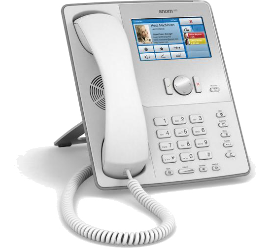 snom 870 White IP Phone