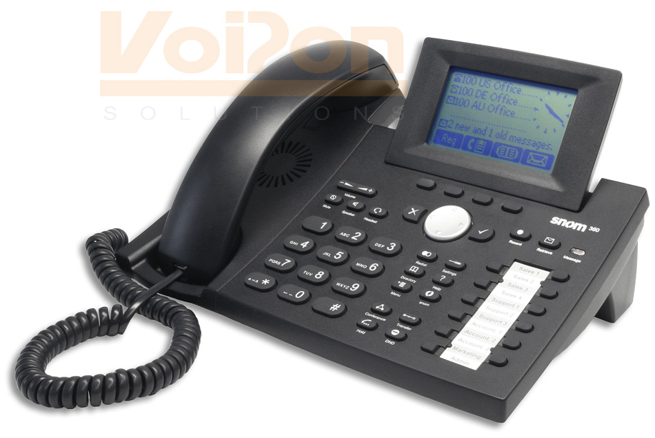 Snom 360 Ip Phone Sip Poe Voip Telephone