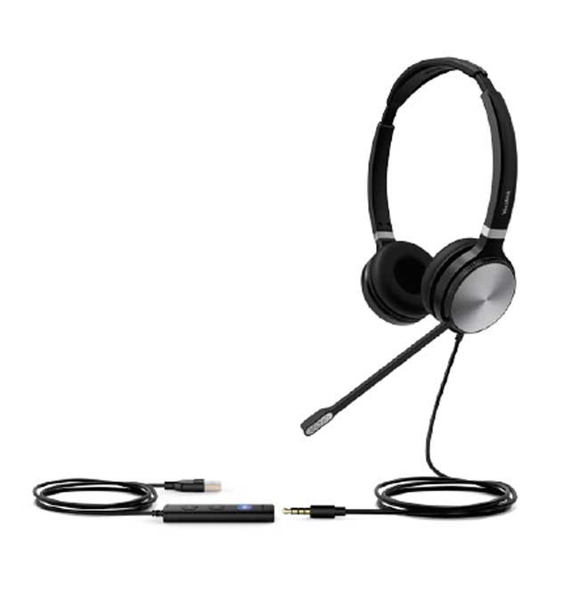 Yealink UH36 Dual Wideband USB Headset for IP Phones