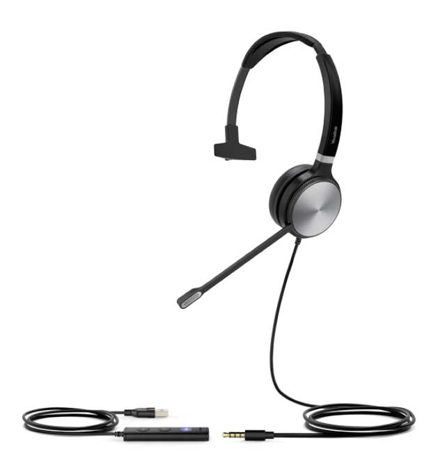 Yealink UH36 Mono Wideband USB Headset for IP Phones