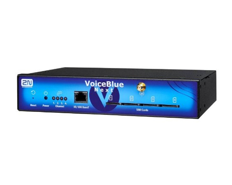 2N VoiceBlue Next  VoIP 4 GSM channels Gateway