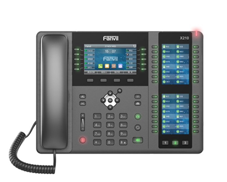 Fanvil X210 High-end Enterprise IP Phone