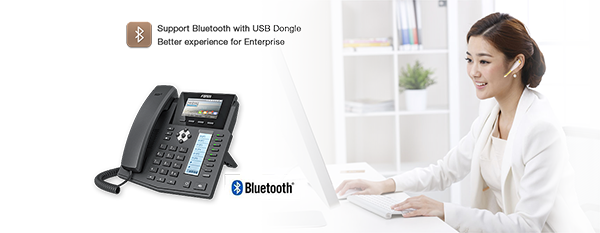 Supports Bluetooth with USB Dongle