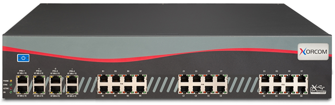 New Look For Xorcom Chassis And More Power For Ip Pbxs