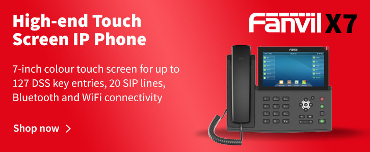 Fanvil X7 High-end Touch Screen IP Phone