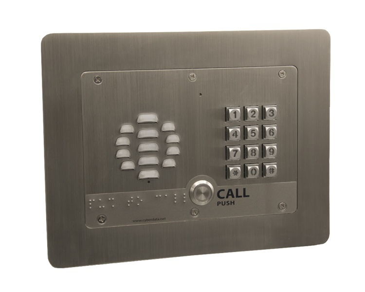 CyberData VoIP Outdoor Intercom w/Keypad (011214)