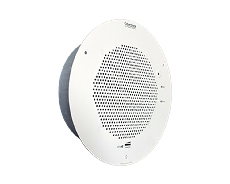 CyberData SIP Talk-Back Speaker - Gray White (011397)
